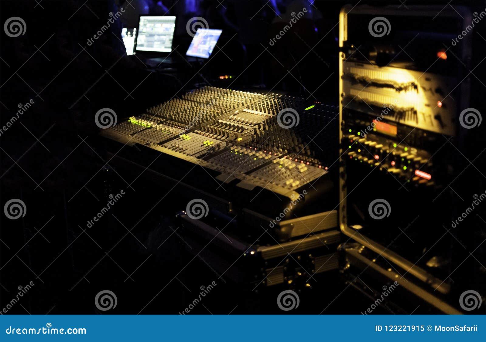 Mixeur son de musique