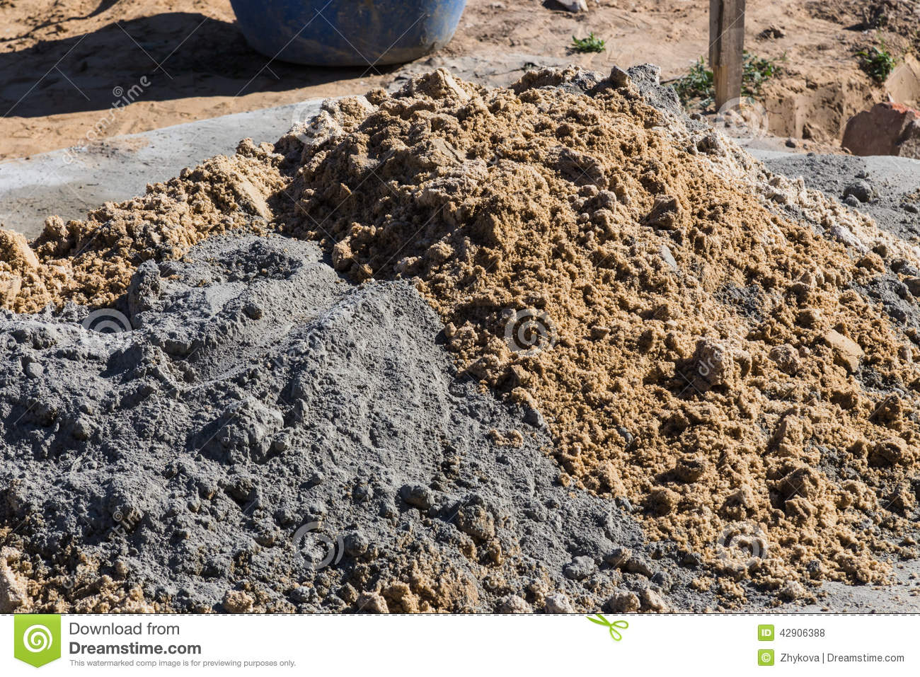 how to use sand cement