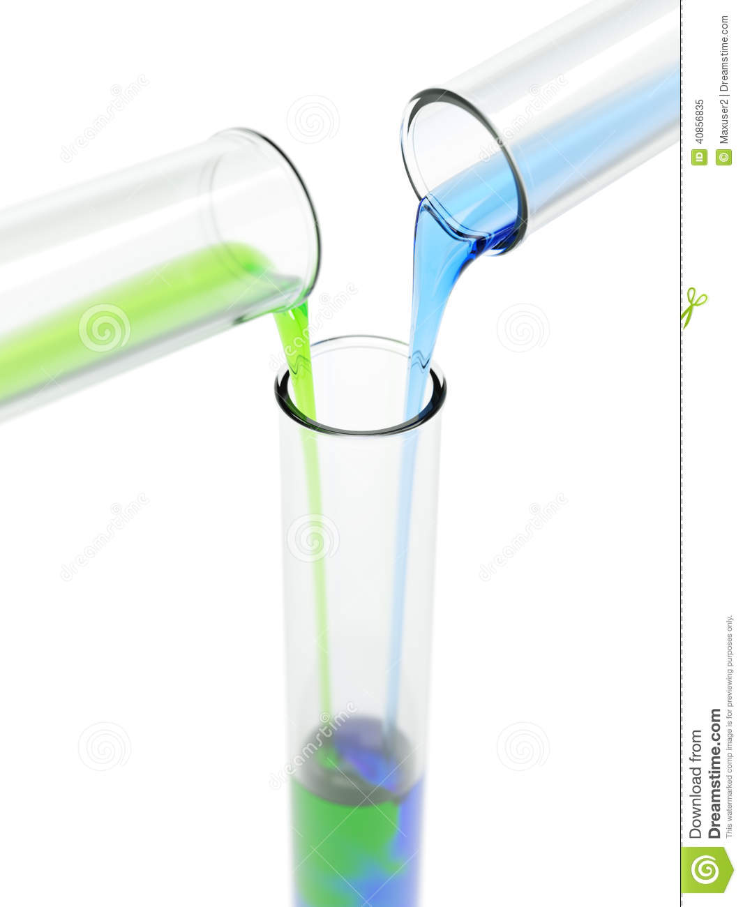 Mixing Chemicals Stock Image Image Of Liquid