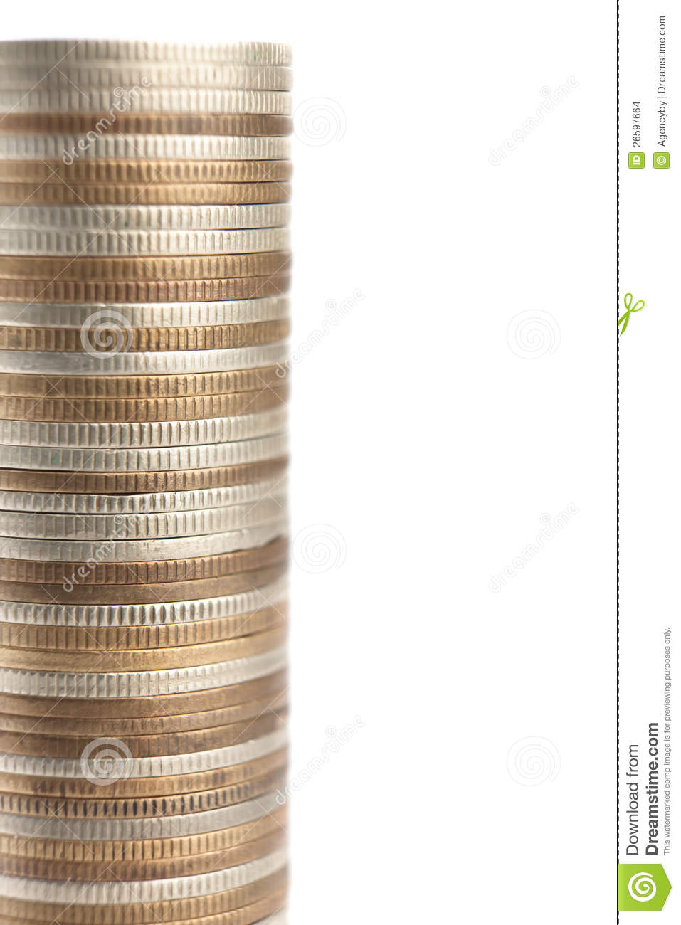 Mixture of gold bronze and silver coins stock images for Mixture of gold and silver