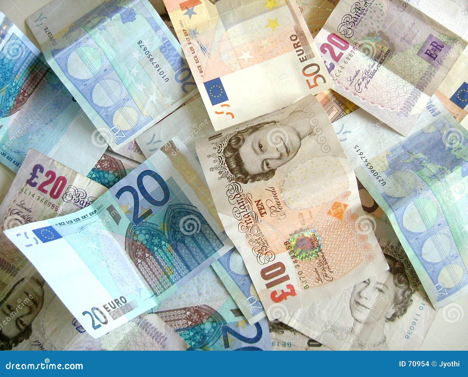 Mixture of money
