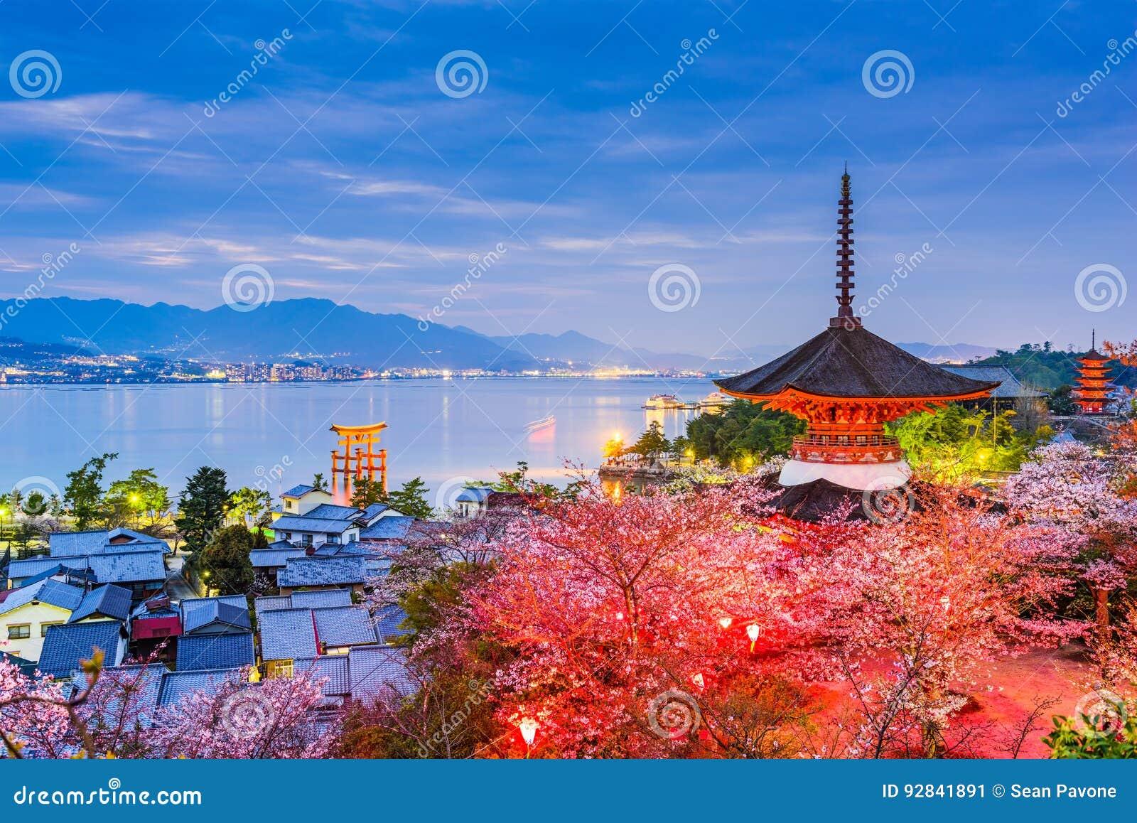 Miyajima, Hiroshima na mola