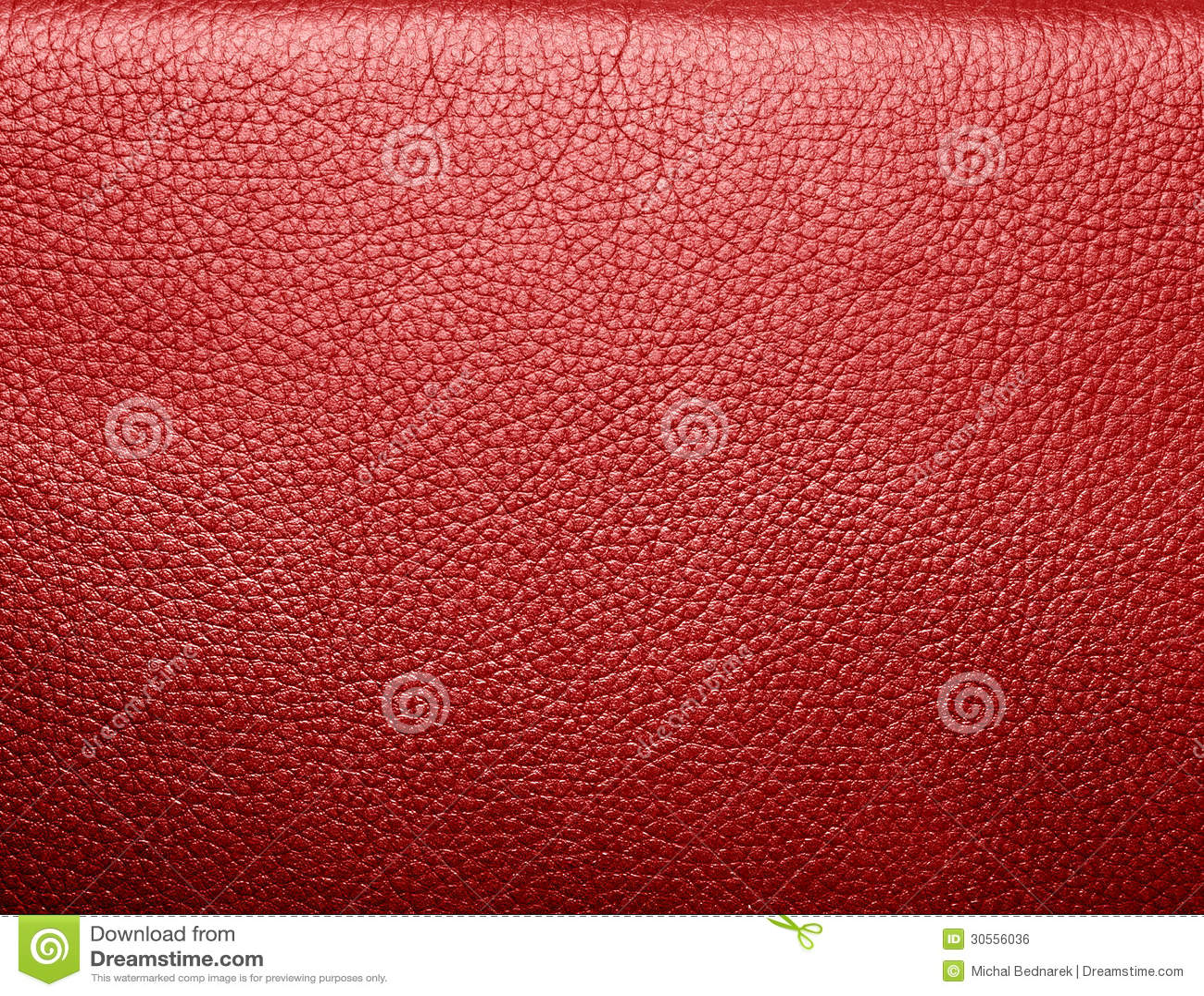 Mjukt rynkigt rött läder. Textur eller bakgrund