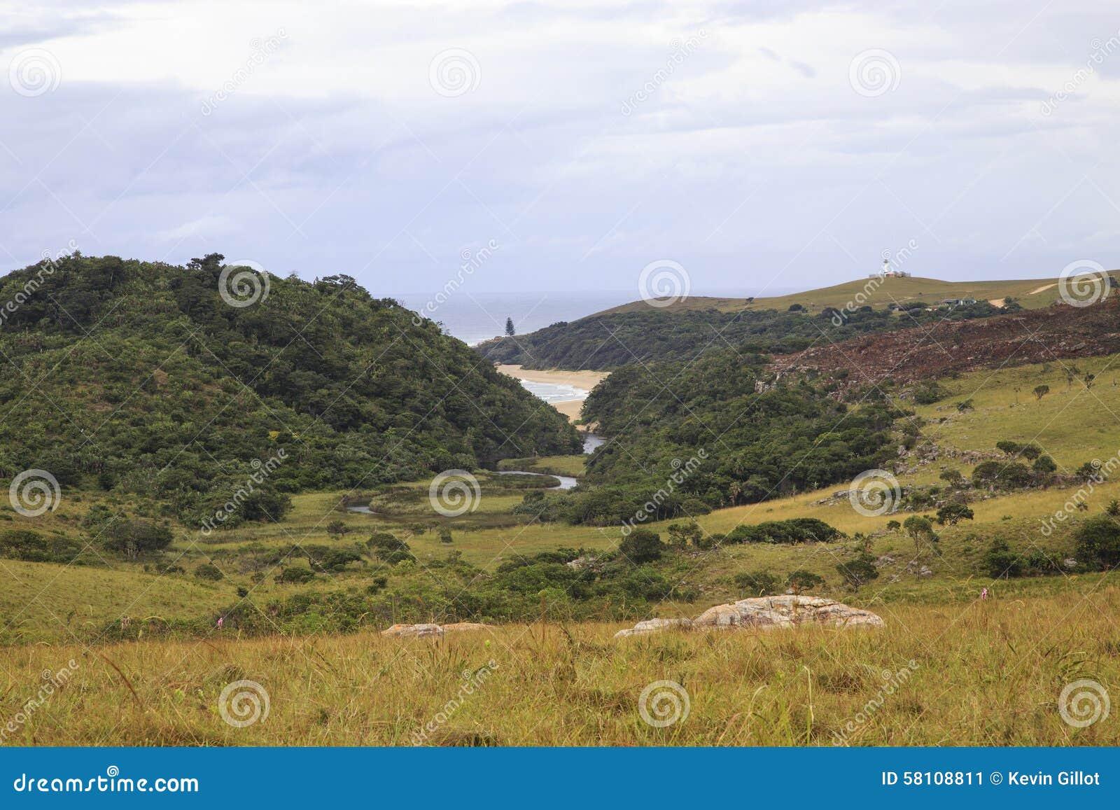 Mkambati - costa selvagem