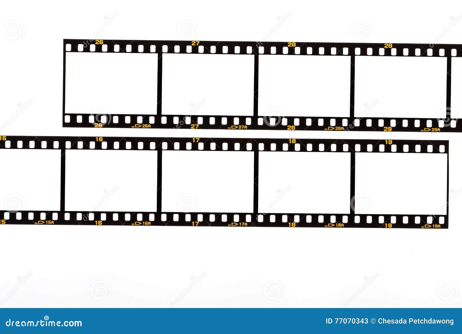 35mm Filmen Sie Streifen