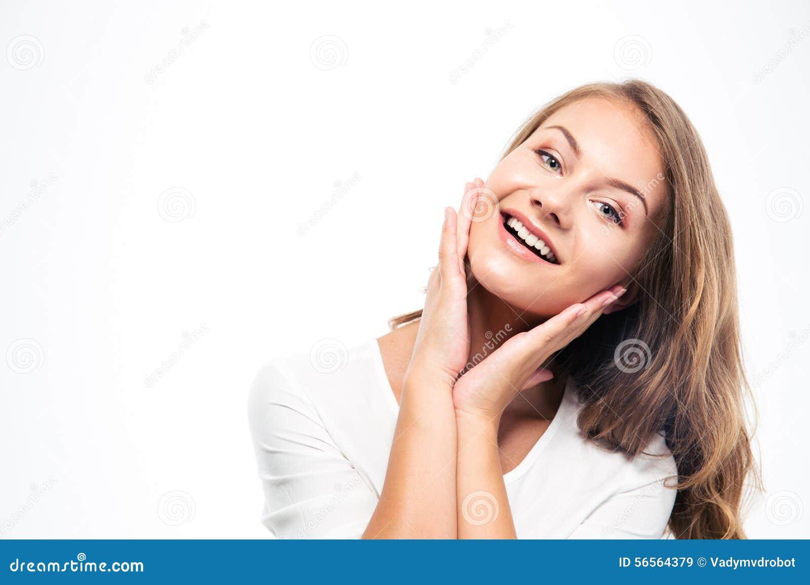 Download 2 200mm 70 8l καλυμμένες χαμογελώντας Usm νεολαίες γυναικών κανόνων φ πορτρέτο Στοκ Εικόνα - εικόνα από χαριτωμένος, καλός: 56564379