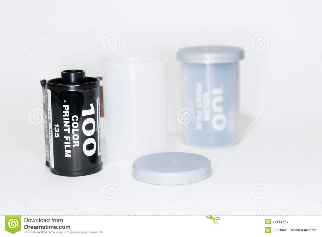 35mm Roll Film stock photo. Image of green, open, camera ...