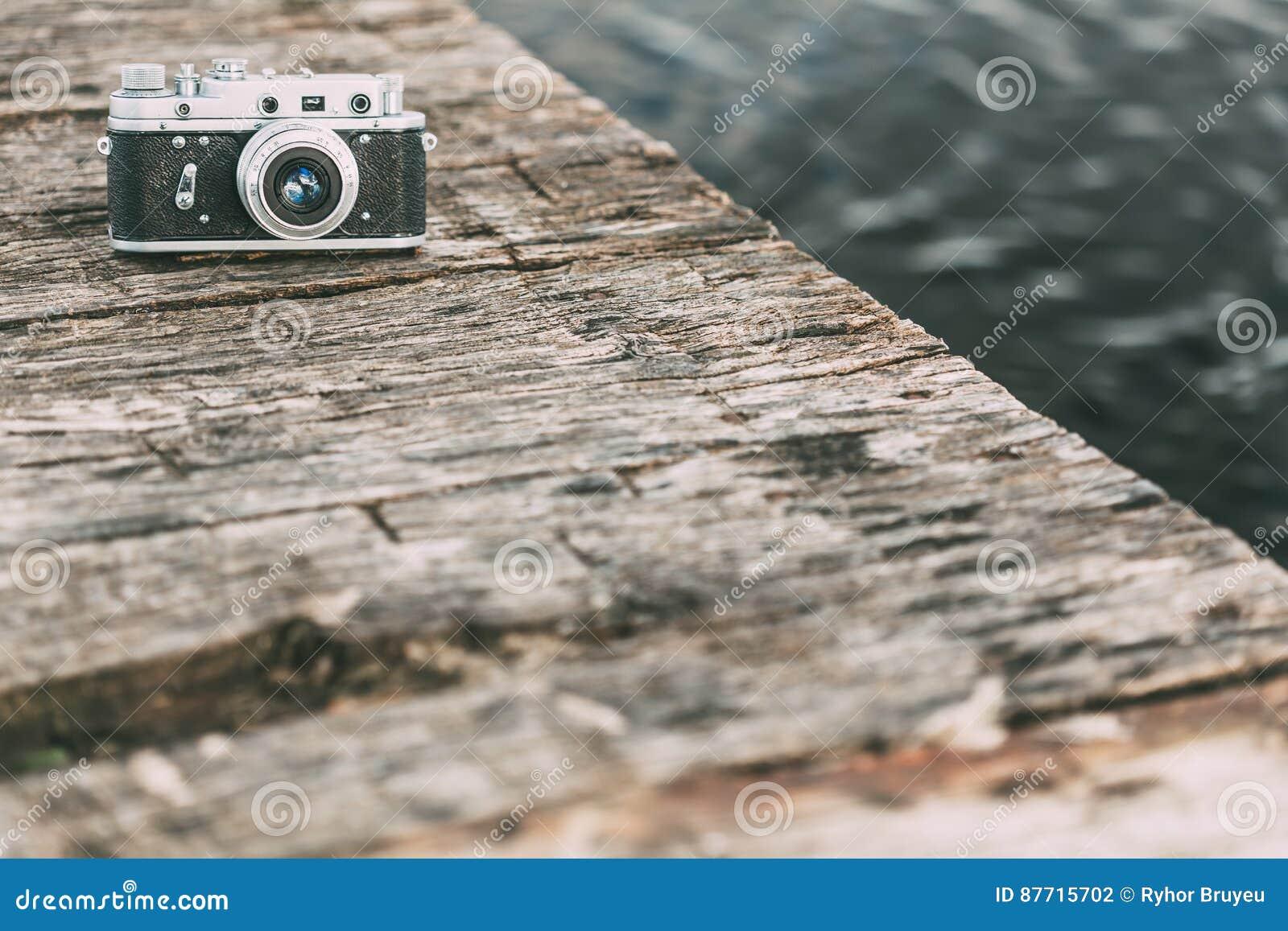 Mm weinlese alte retro klein format entfernungsmesser kamera