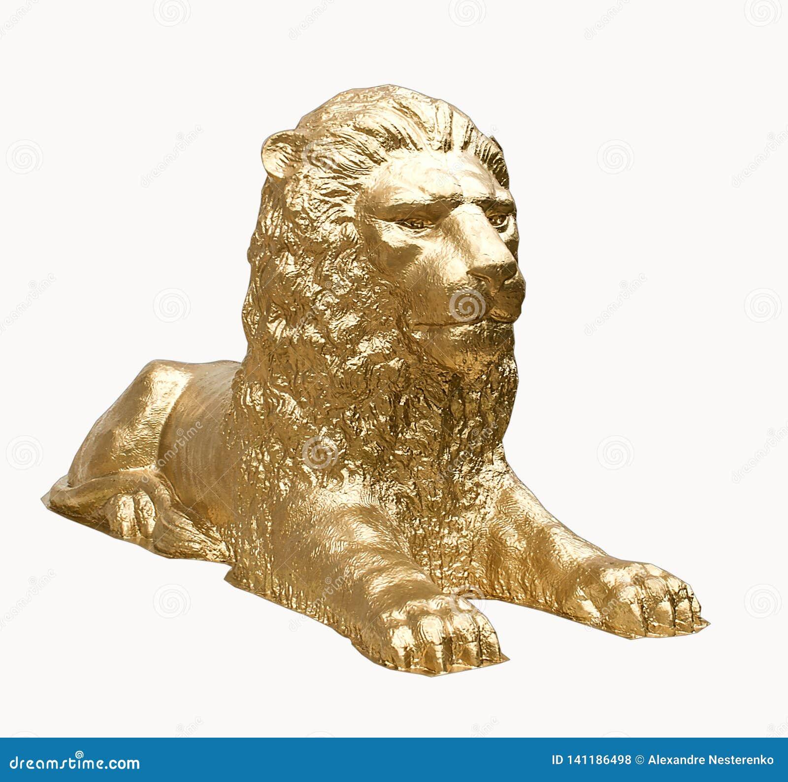 Można, majestatyczna, straszna rzeźba lew,