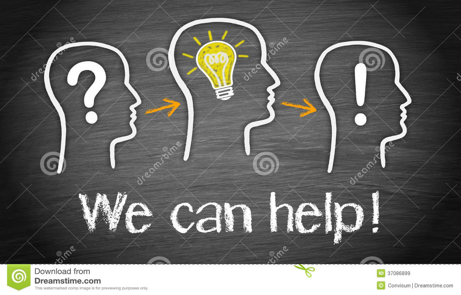 Download Możemy pomagać ilustracji. Ilustracja złożonej z profile - 37086899