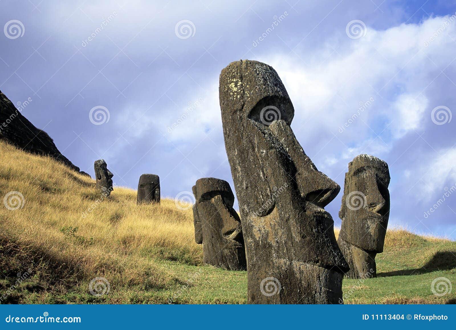 Moai- Ostern Insel, Chile