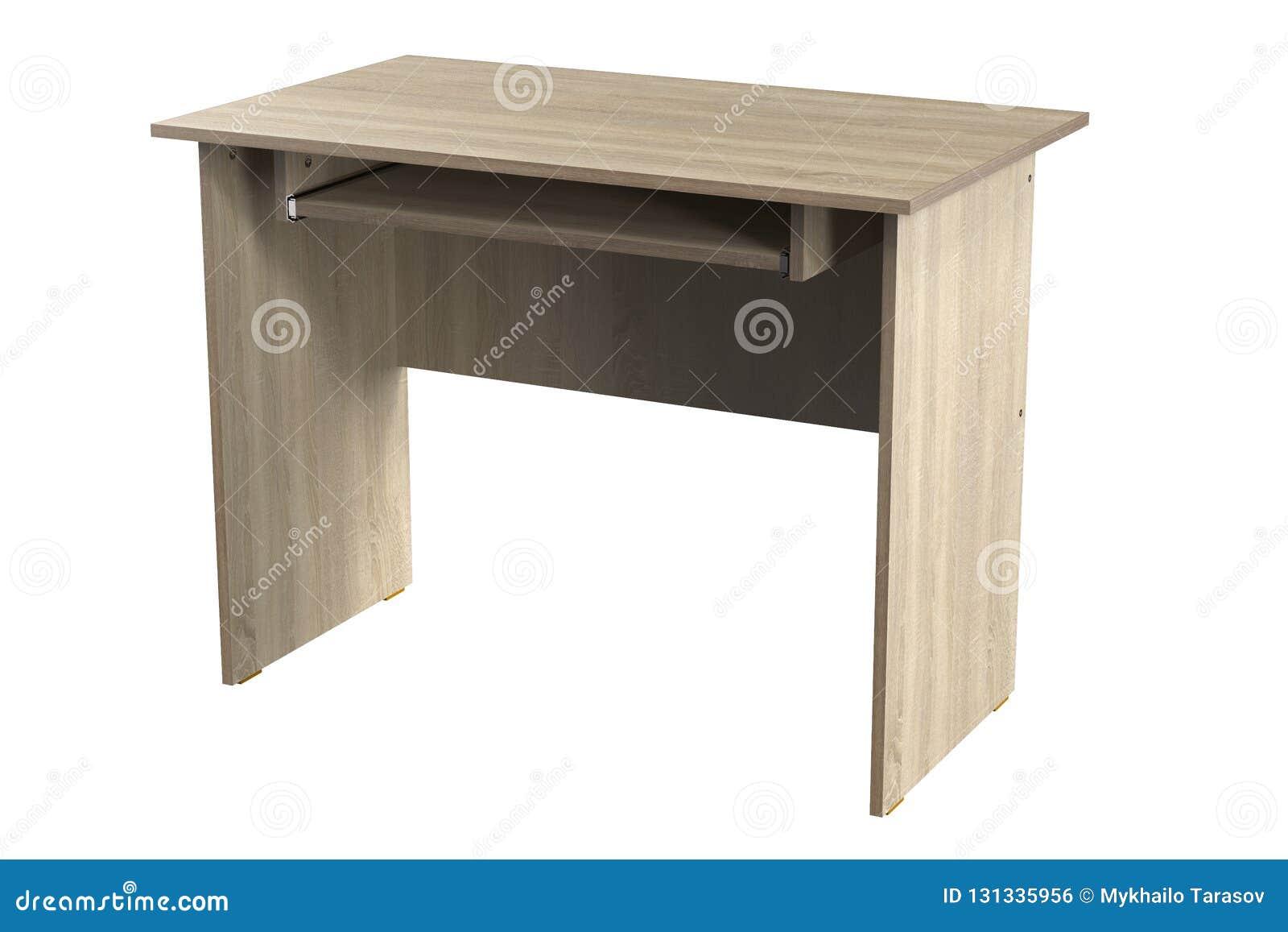 Mobília da tabela do escritório domiciliário do carvalho do cartão da mesa do computador