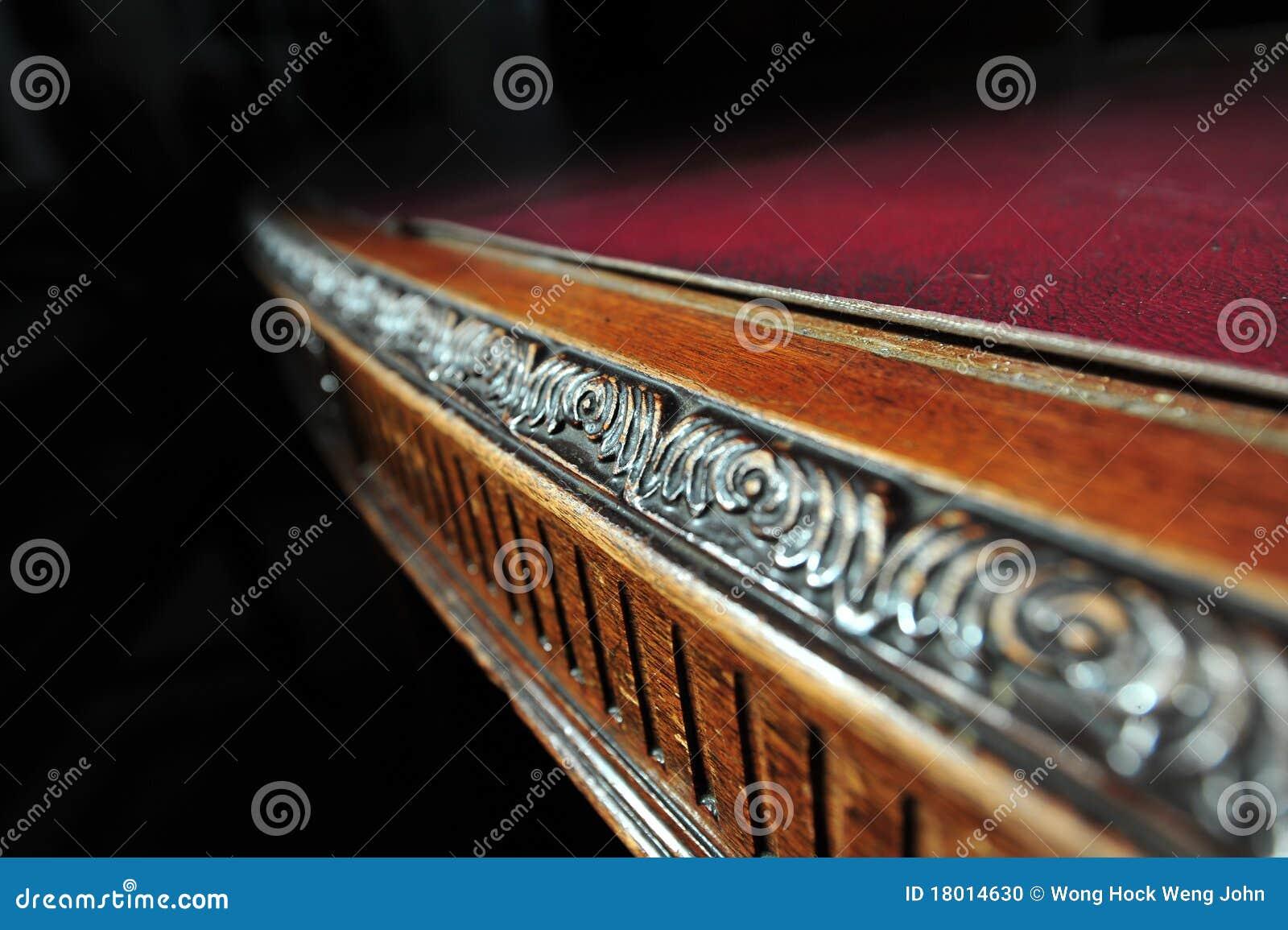 Mobília de madeira do ofício