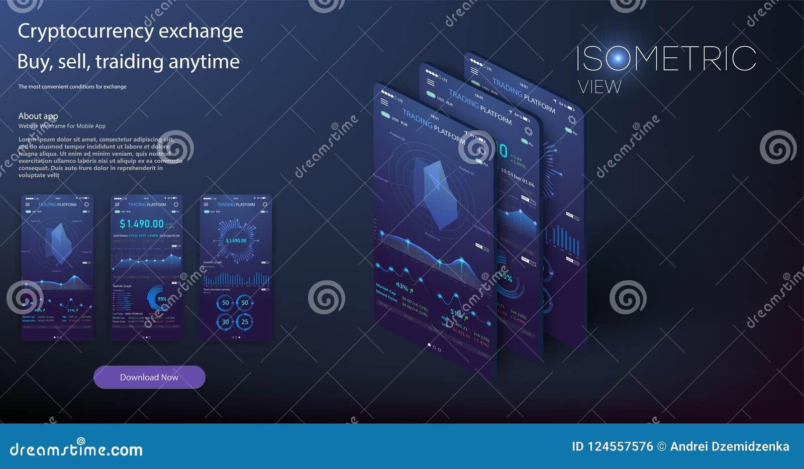 Mobiel app infographic malplaatje met de moderne grafieken van ontwerp wekelijkse en jaarlijkse statistieken