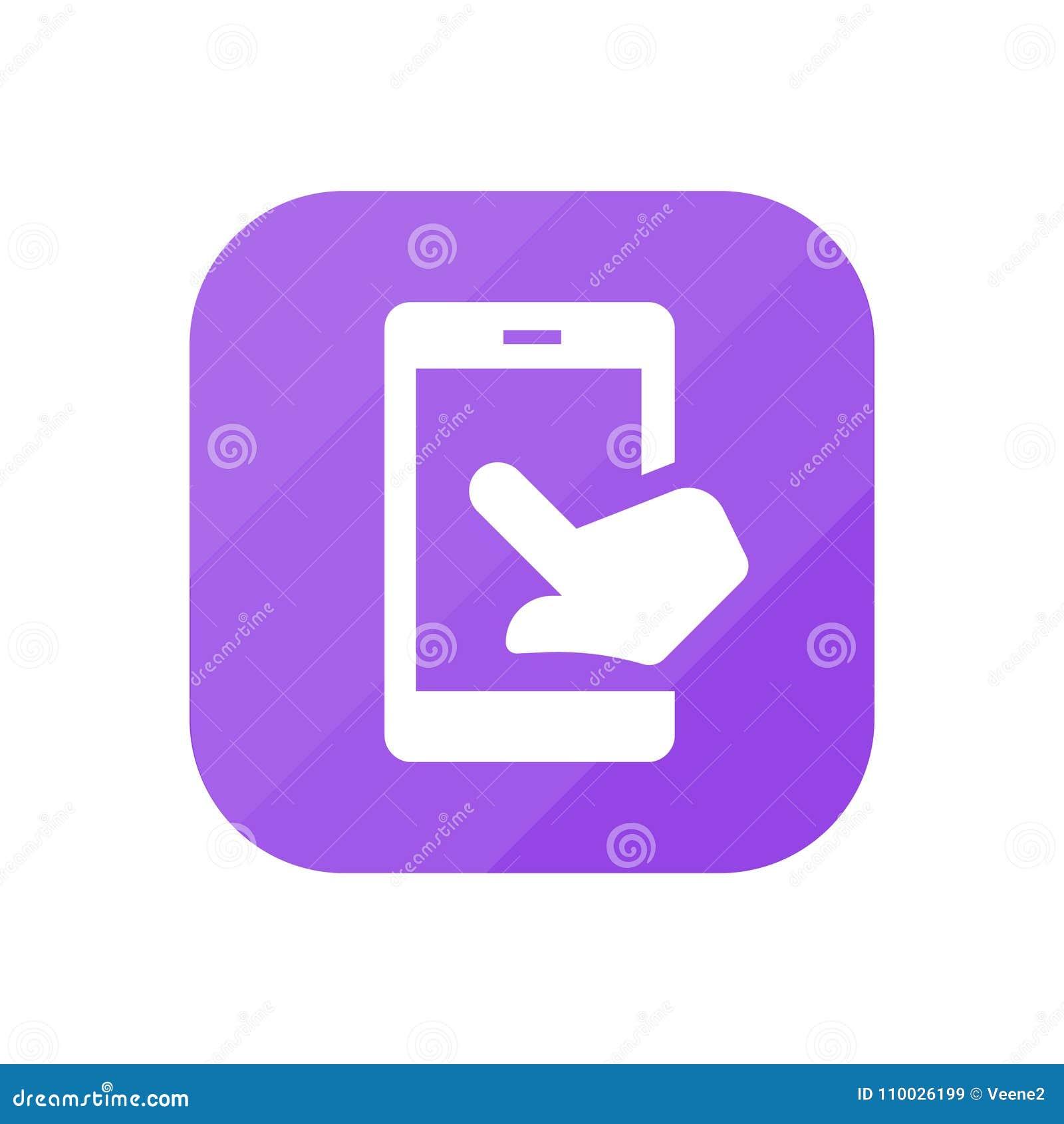 Mobiele aanraking - App Pictogram