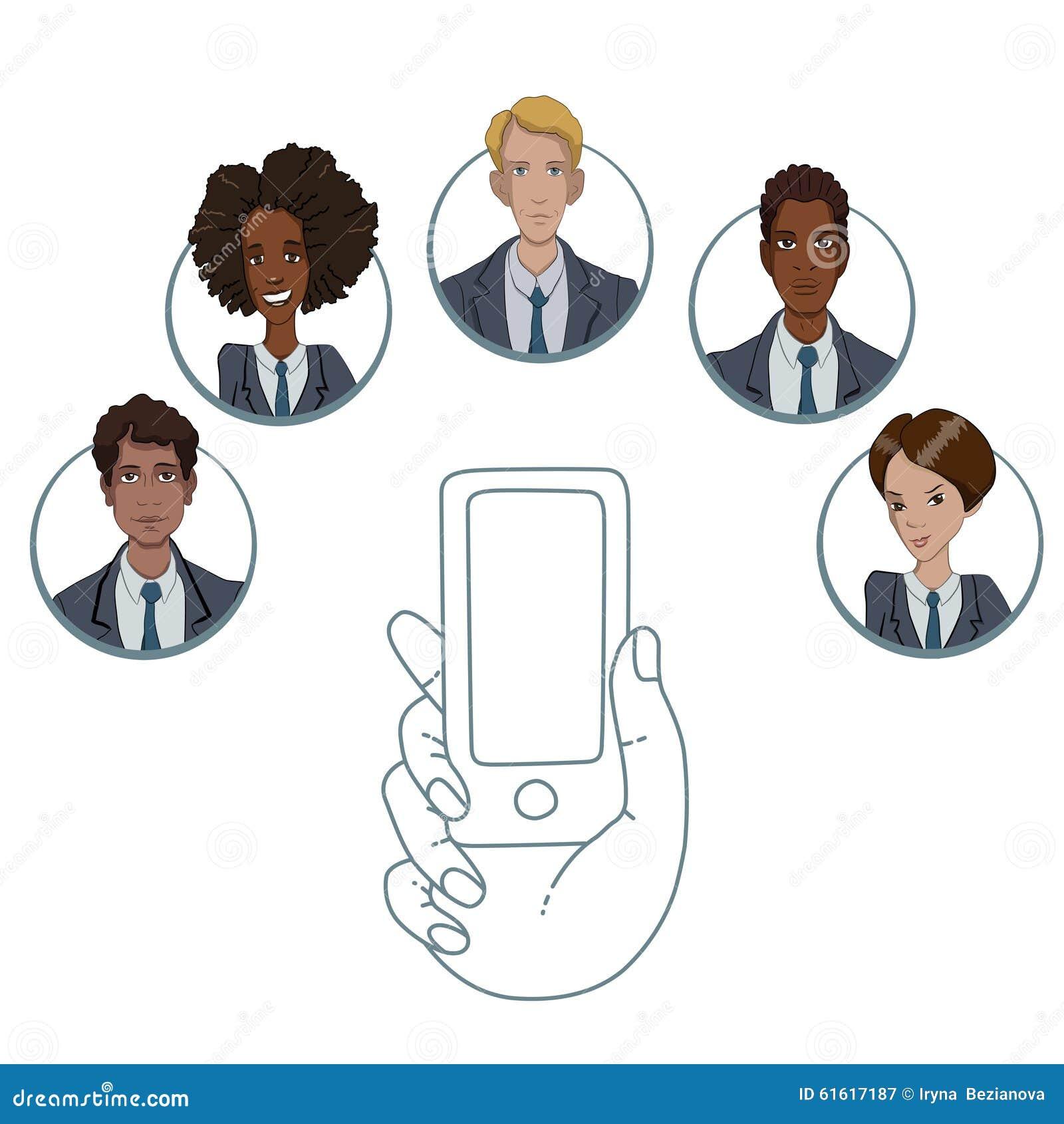 Mobiele app voor samenwerking tussen verschillende arbeiders