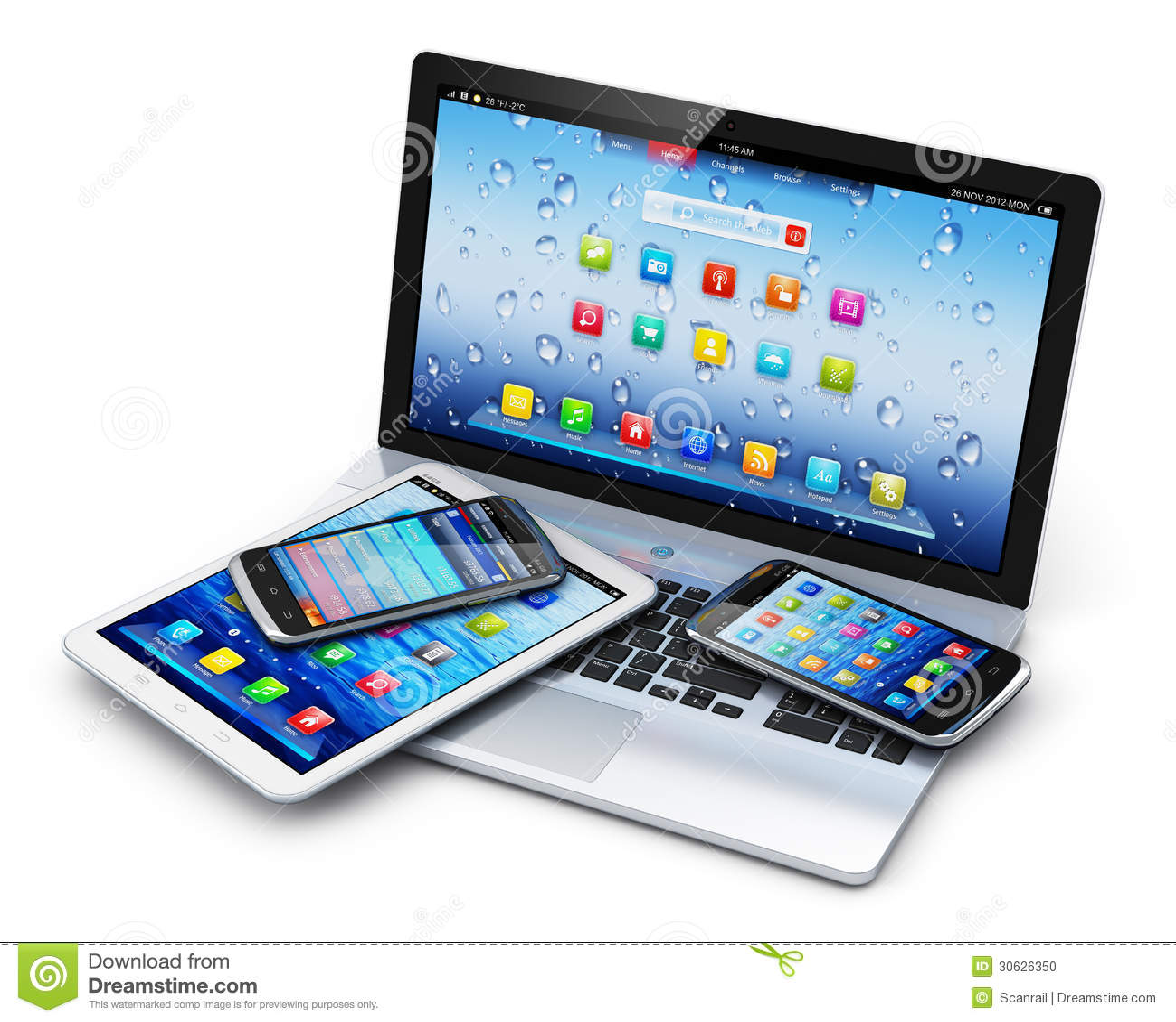 Mobiele apparaten