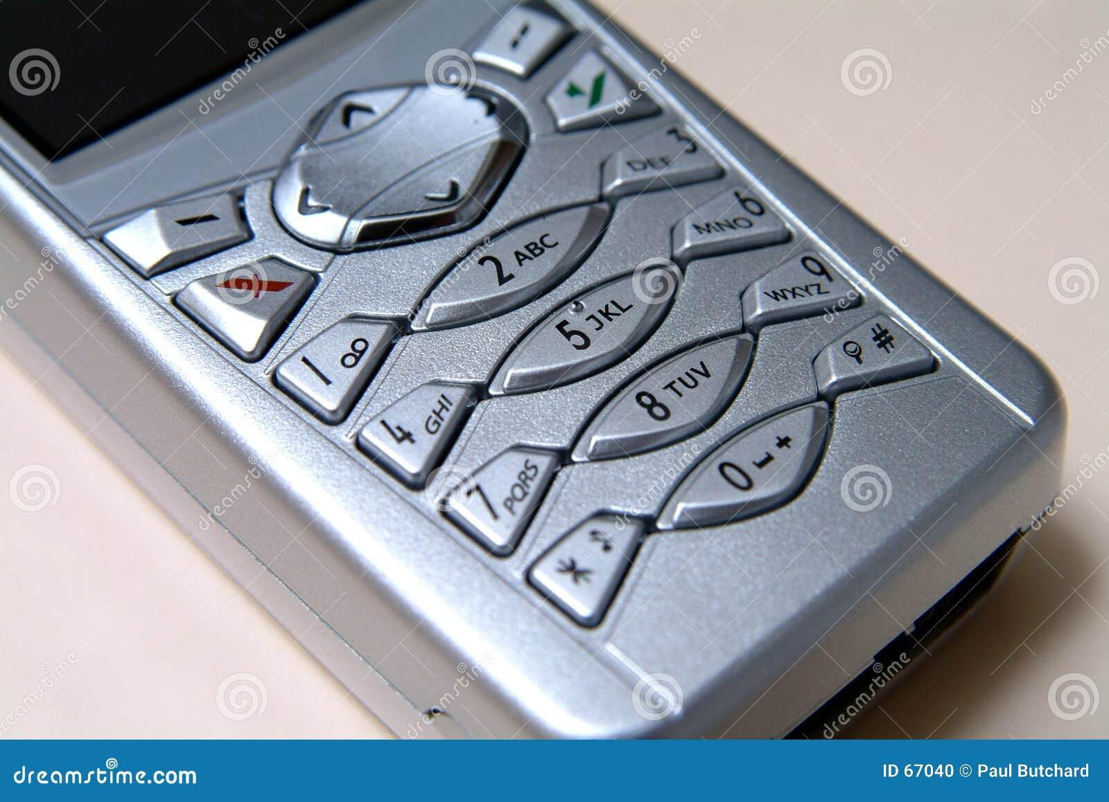Mobiele Dichte Omhooggaand van de Telefoon