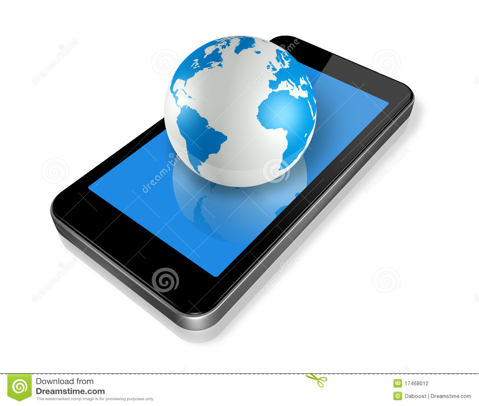 Mobiele telefoon en wereldbol stock illustratie illustratie bestaande uit screen drie 17468012 - Maastricht mobel ...