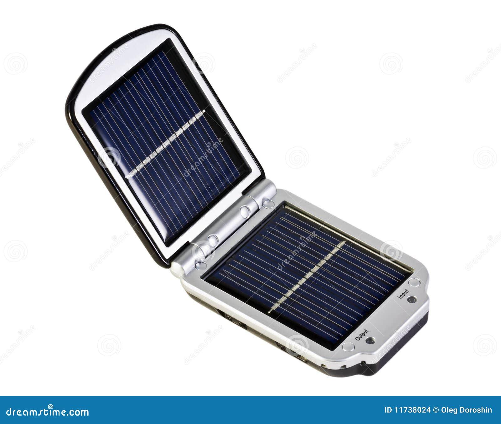 Mobiele zonnebatterij