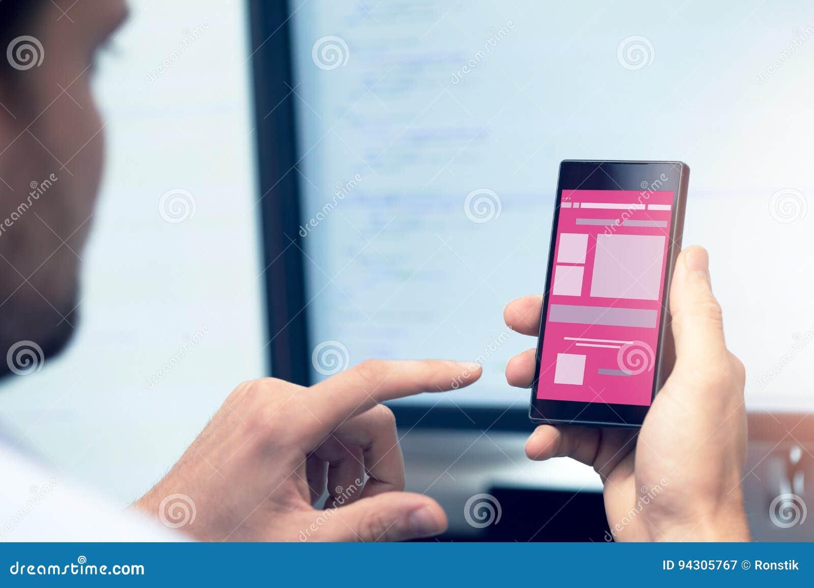 Mobil applikationutveckling - programmerare med smartphonen