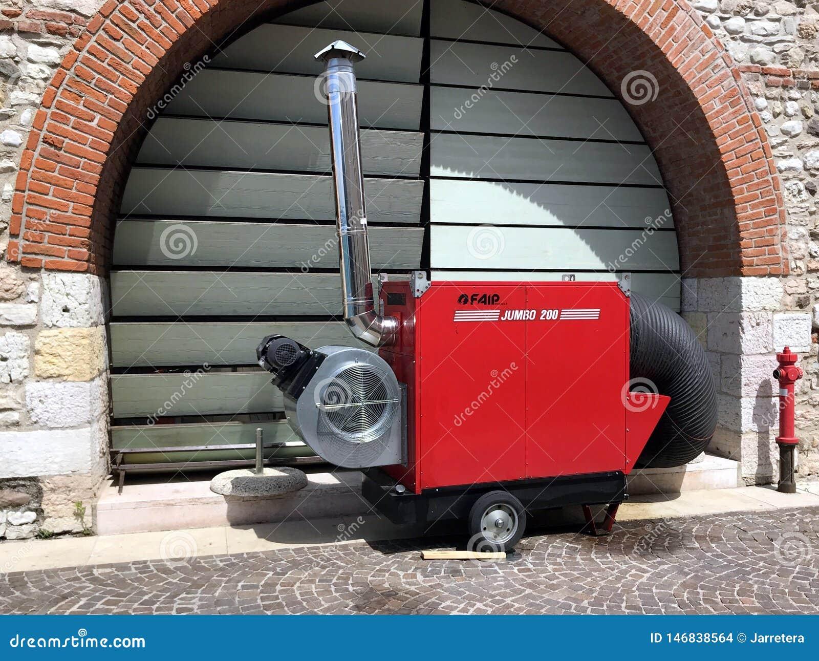 Mobil för Faip jumbo 200 generator för varm luft