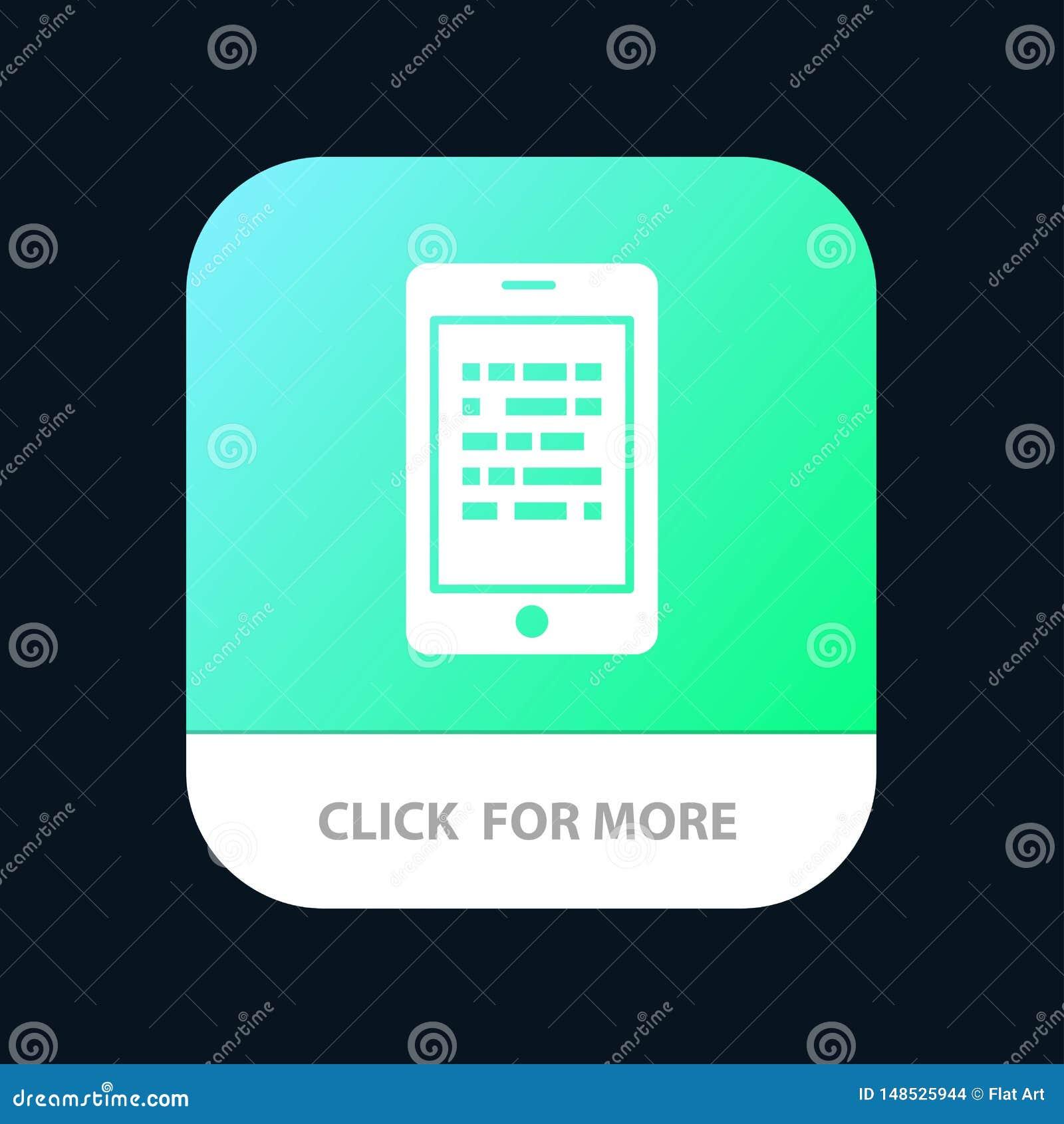 Mobil läsning, data som är säkra, E som lär den mobila Appknappen Android och IOS-skåraversion