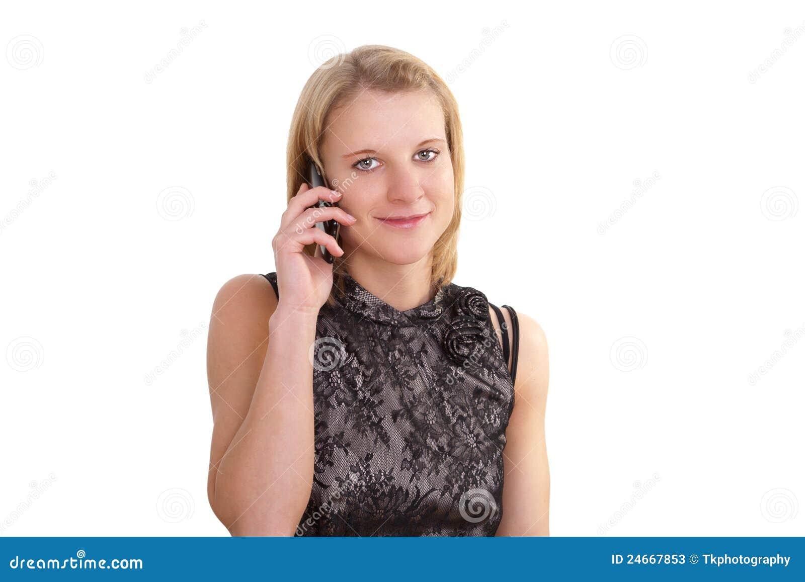 Mobil telefonu ładni kobiety potomstwa