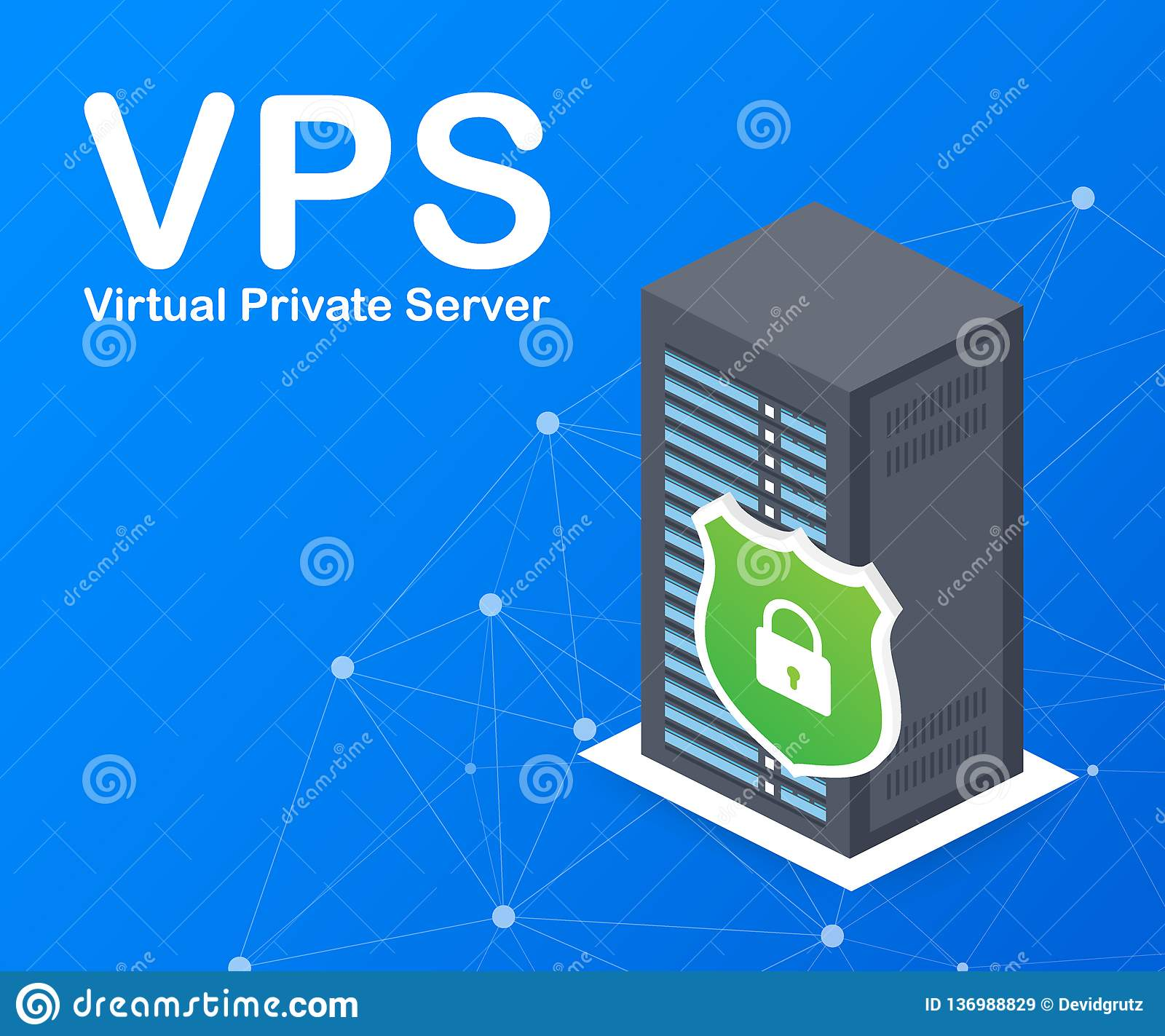 VPS Virtual Private Server Web Hosting Services Infrastructure ...