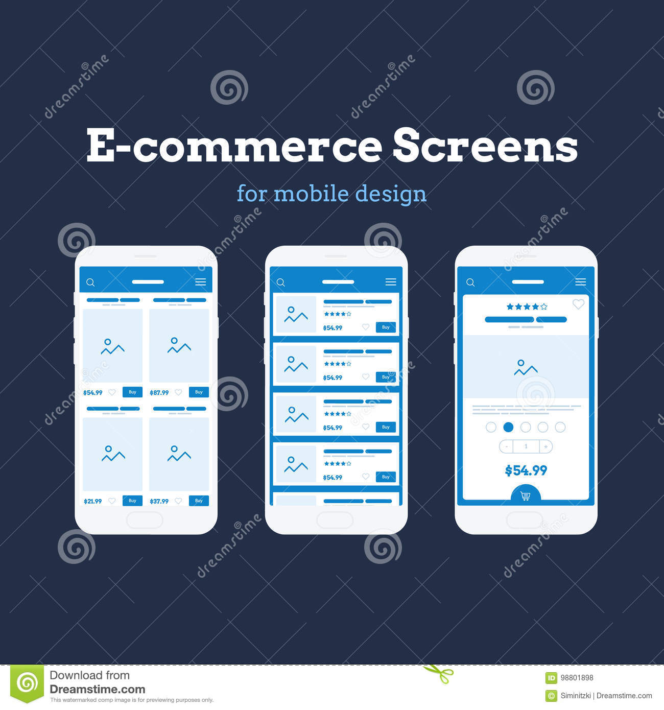 Mobile App Wireframe Ui Kit  Detailed Wireframe For Quick