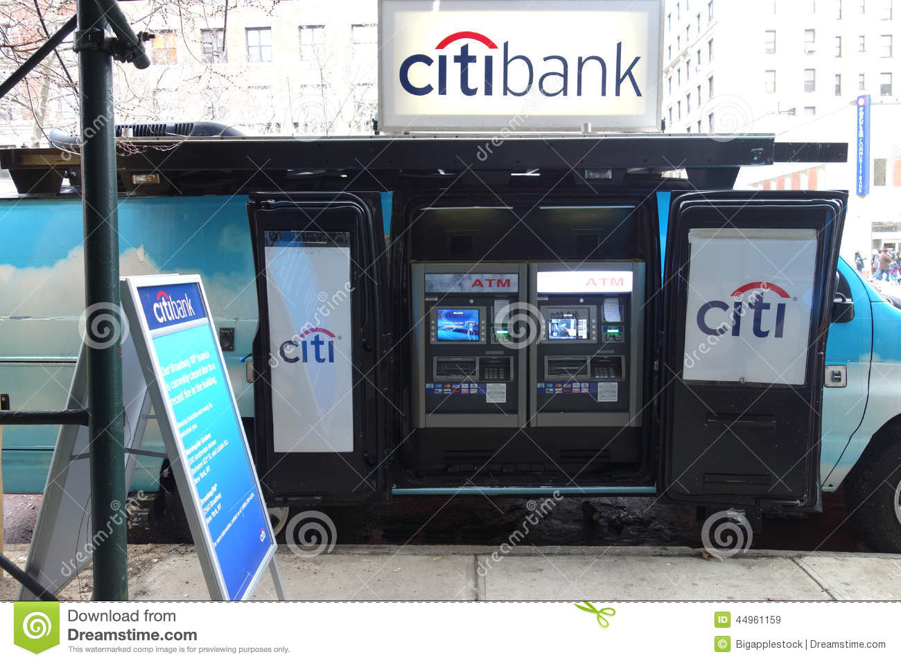 Mobile Atm Editorial Stock Image  Image Of Automated
