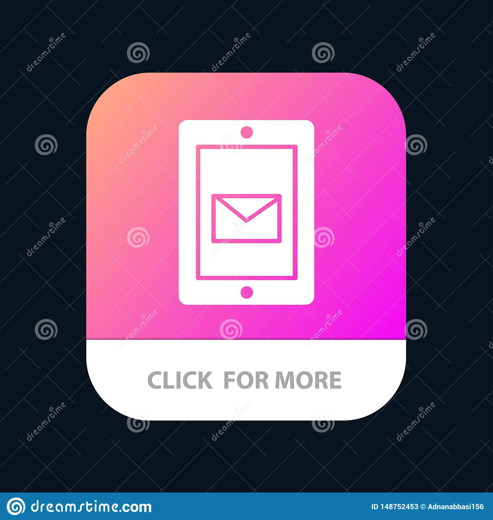 Mobile, Chat, Service, Support Mobile App Button  Android