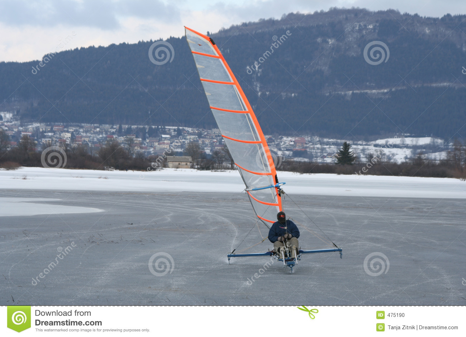 Mobile de patinage de glace