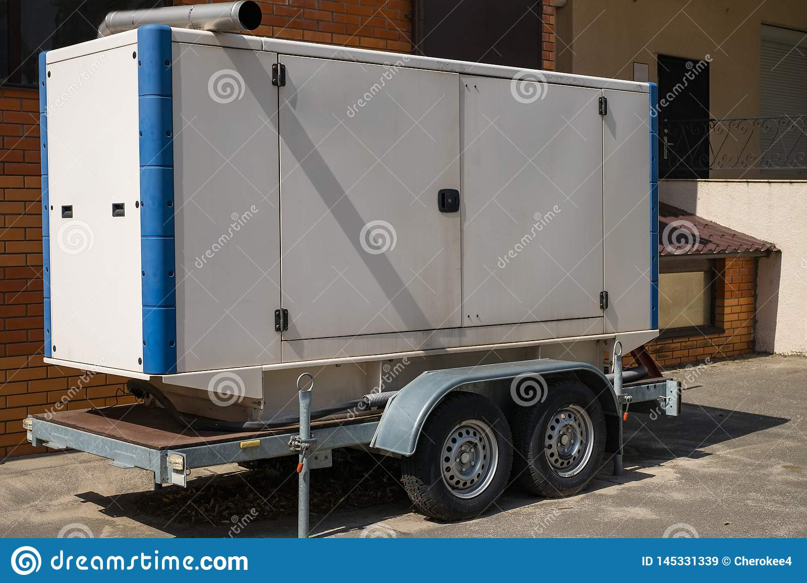 Mobile Diesel Generator For Emergency Electric Power On
