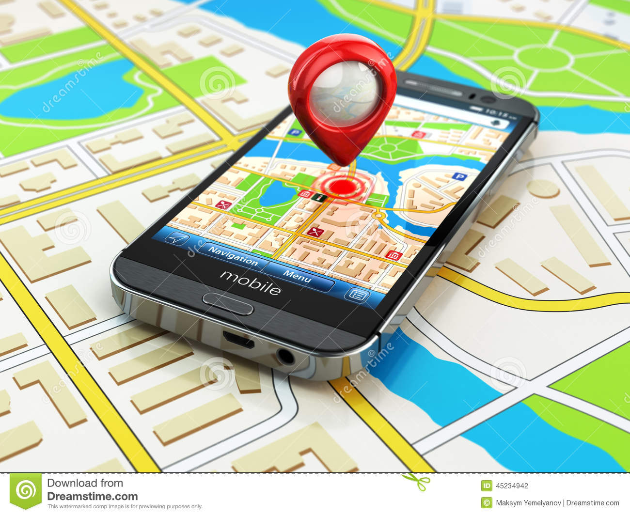 how to download map on phone