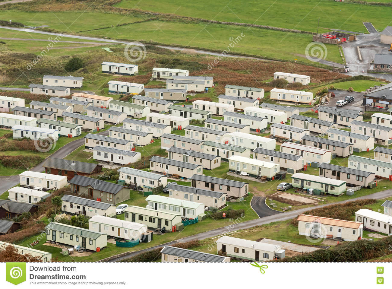 Mobile Home Park Editorial Image
