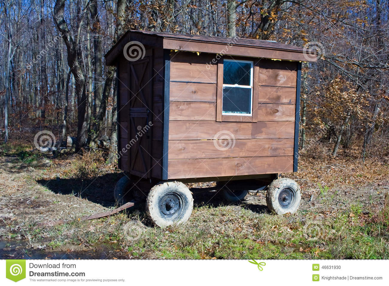 Mobile Home Stock Photo Image 46631930
