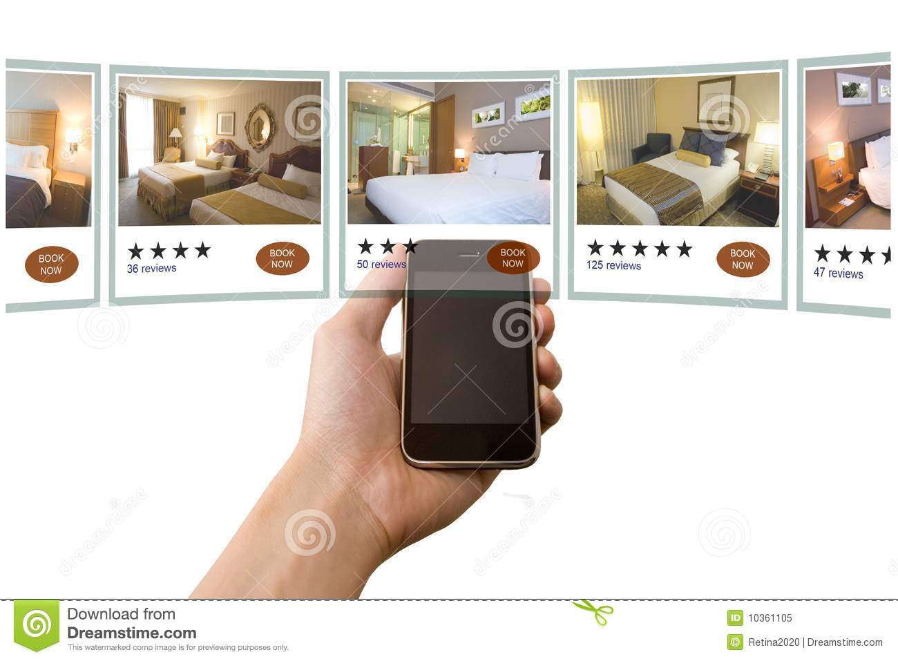 Mobile hotel booking stock image image of hotel cellular for Booking hotel
