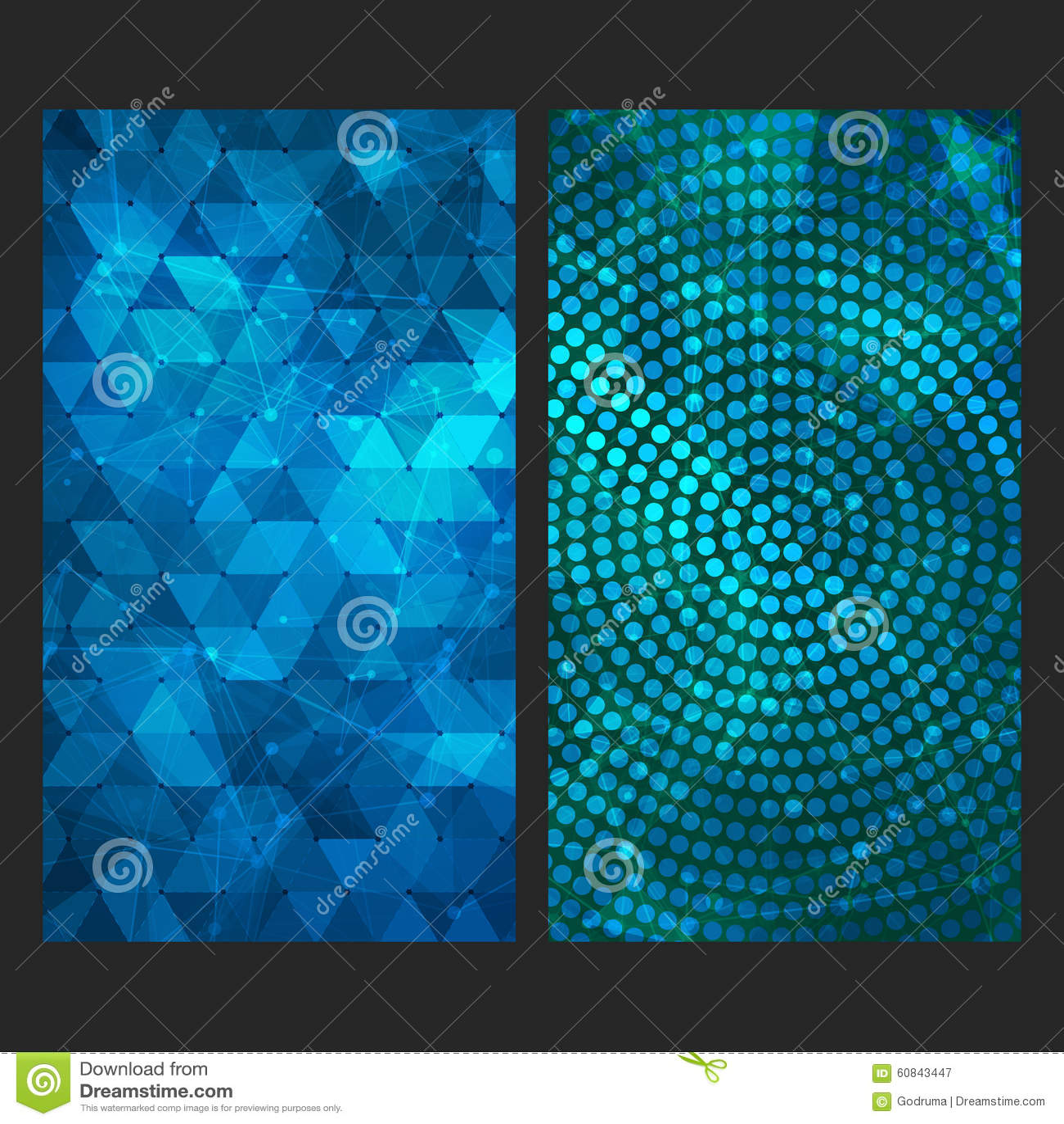 Trending vector set vector illustration cartoondealer for Abstract smartphone wallpaper