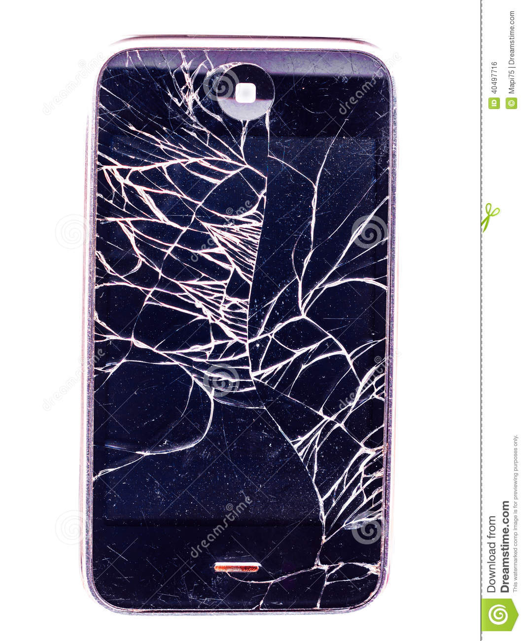 Mobile, iphone destroyed