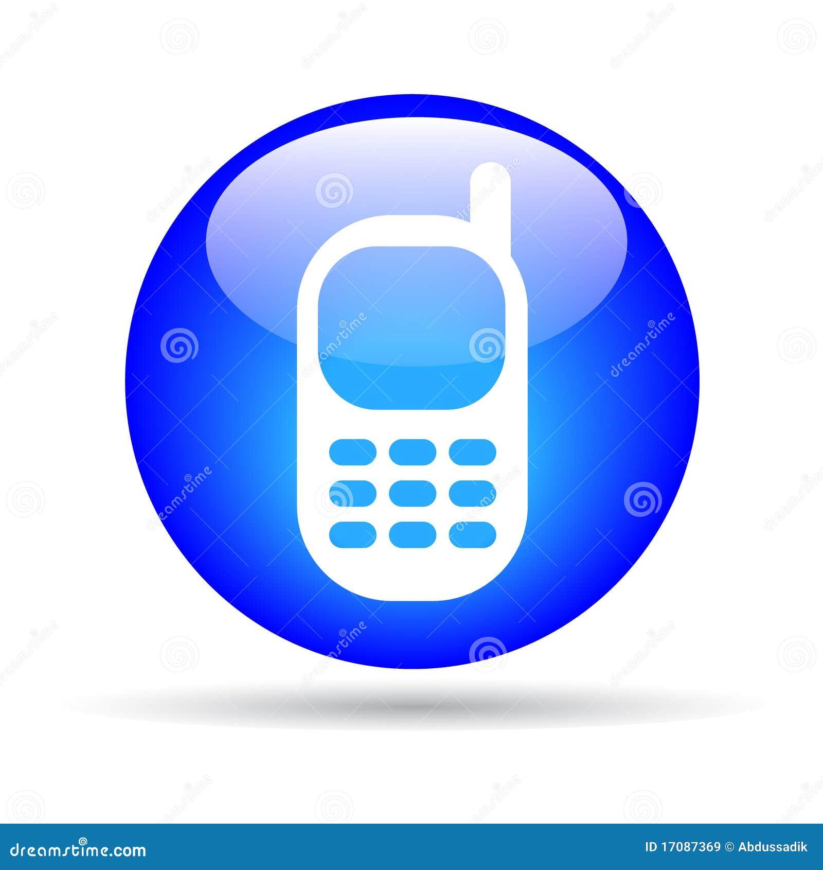 Mobile phone stock vector  Illustration of cellphone - 17087369