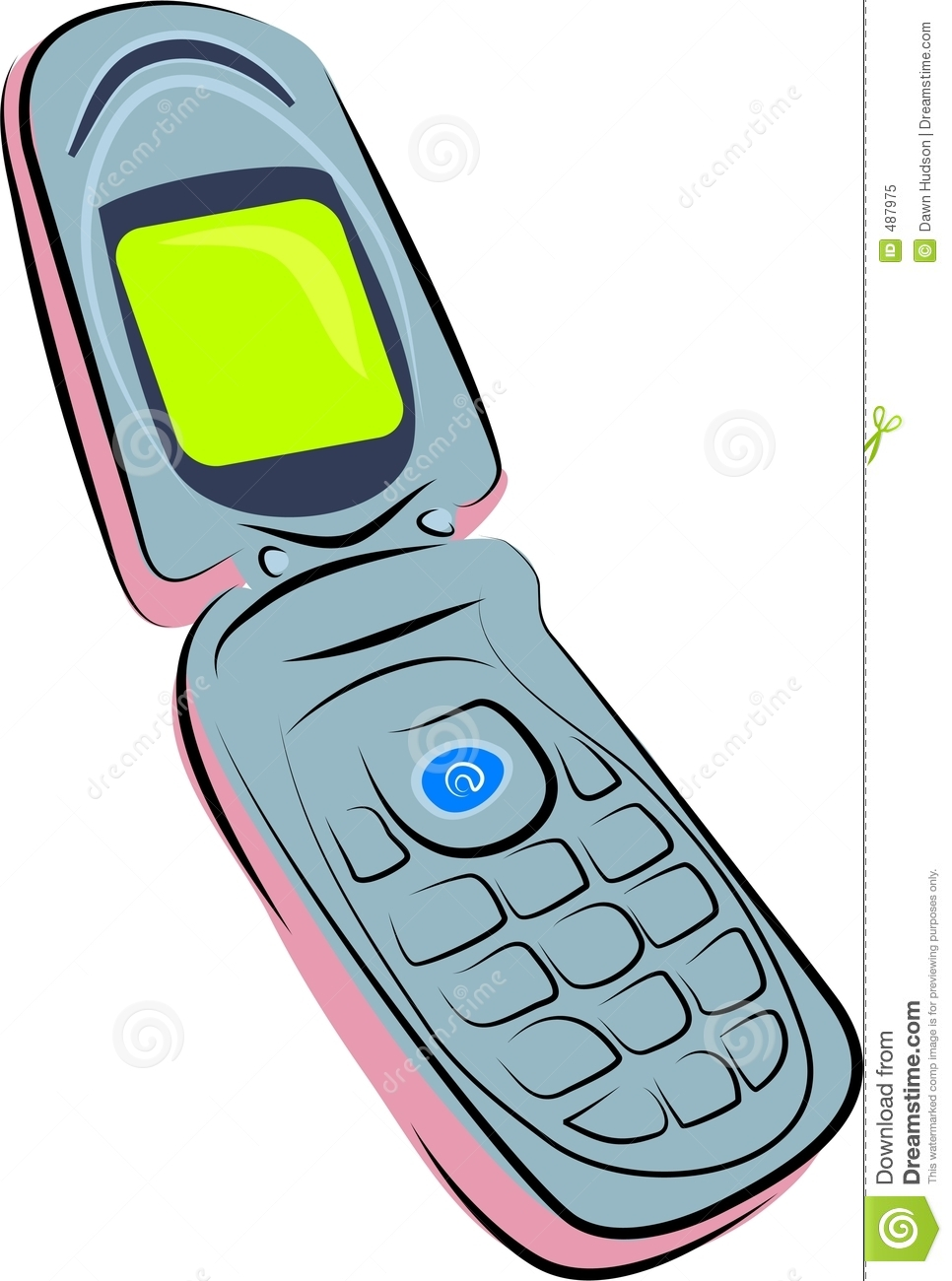 clipart pictures of mobile phones - photo #46