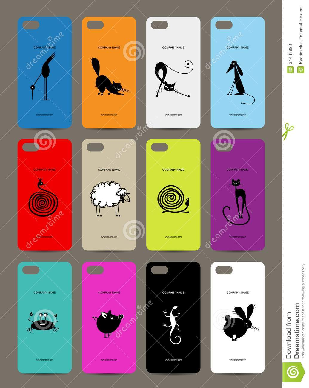 Mobile Phone Cover Back , 12 Funny Animals For Stock Photos - Image ...