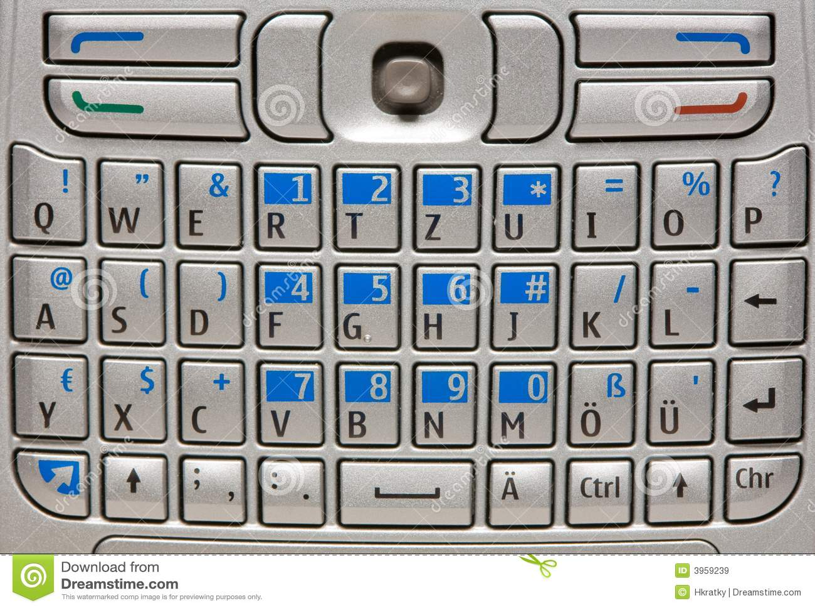 Mobile Phone Keyboard Stock Image Image Of Mobile Smart 3959239