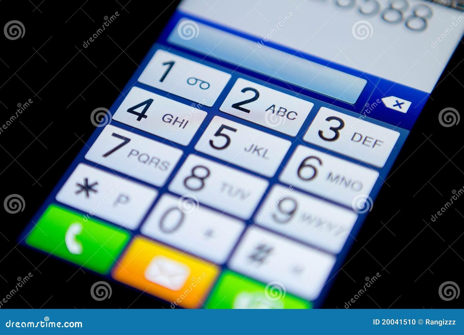 Mobile phone keypad stock photo. Image of computer, call - 20041510