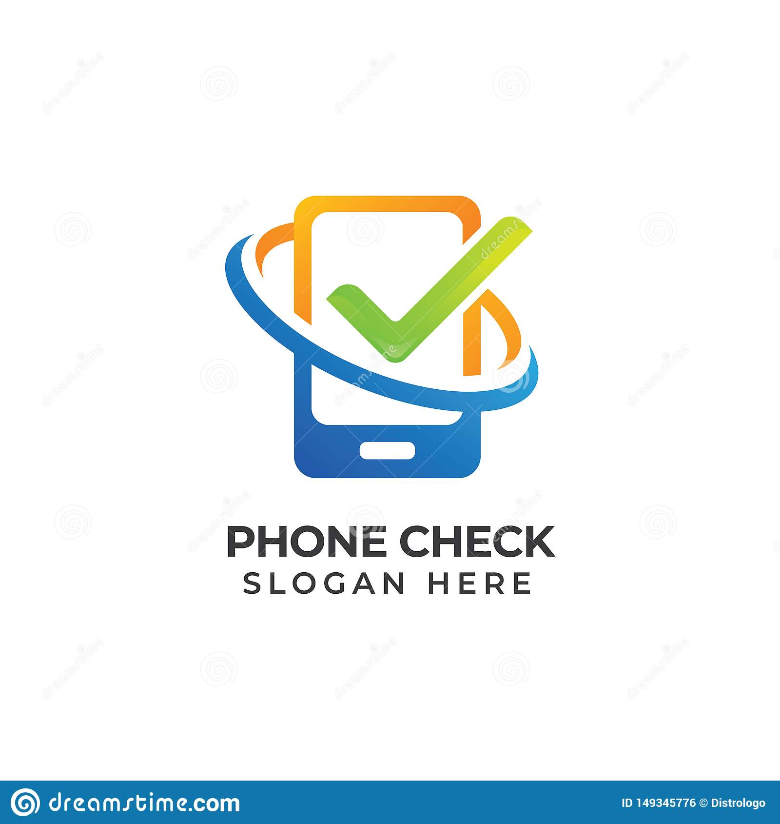 Mobile Phone Repair Logo Template Phone Service Icon Symbol Phone Check Logo Design Stock Vector Illustration Of Digital Repair 149345776