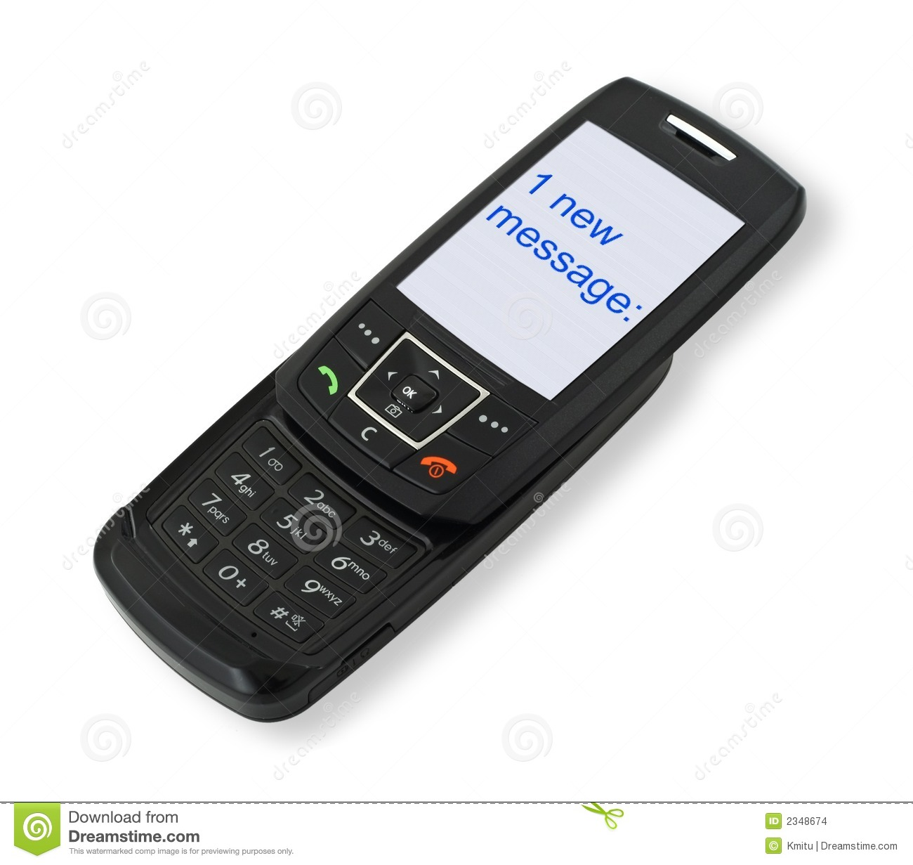 how to send sms from mobile phone