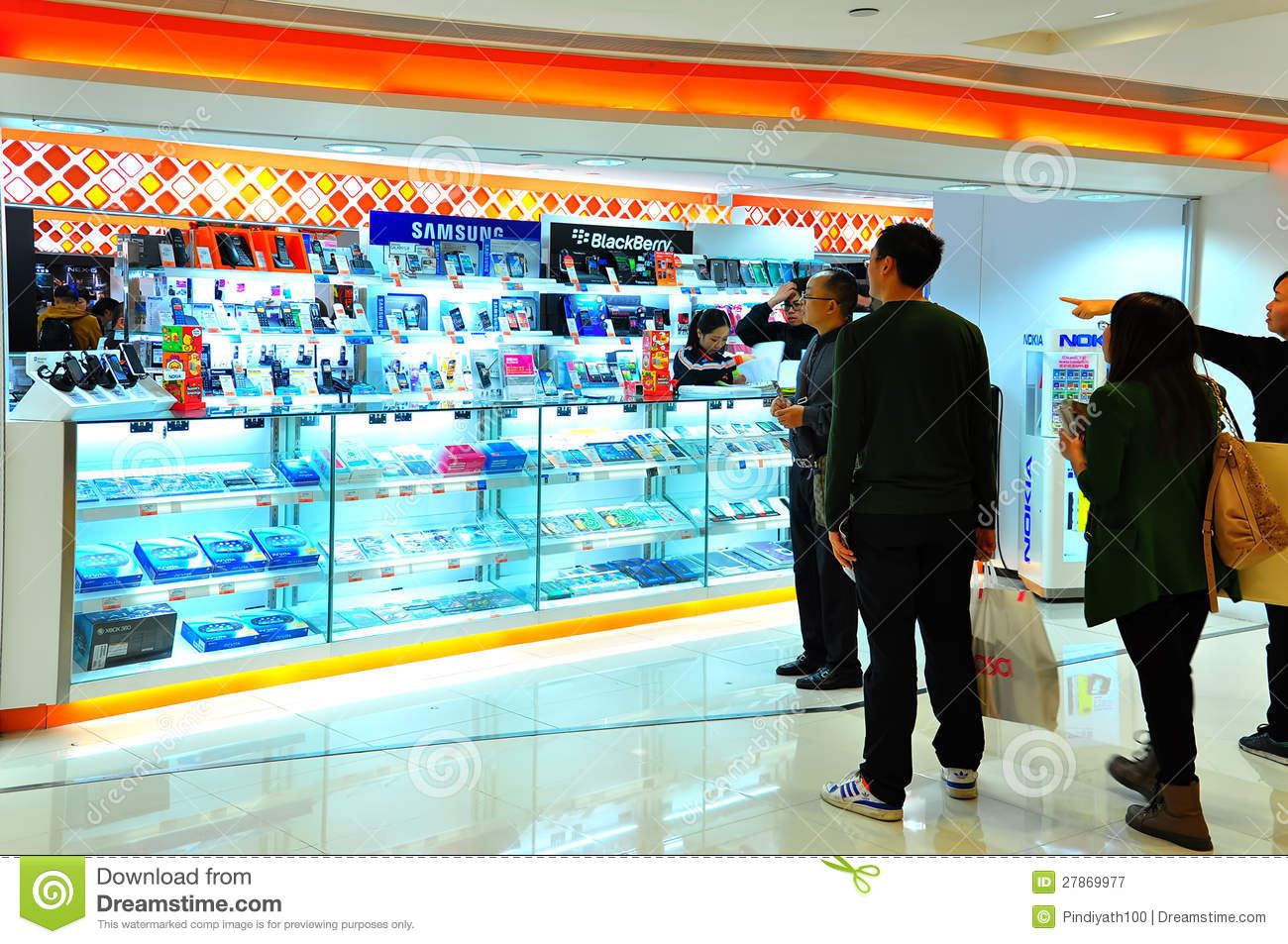 Mobile phone store in hong kong editorial photography for Shop on line mobili