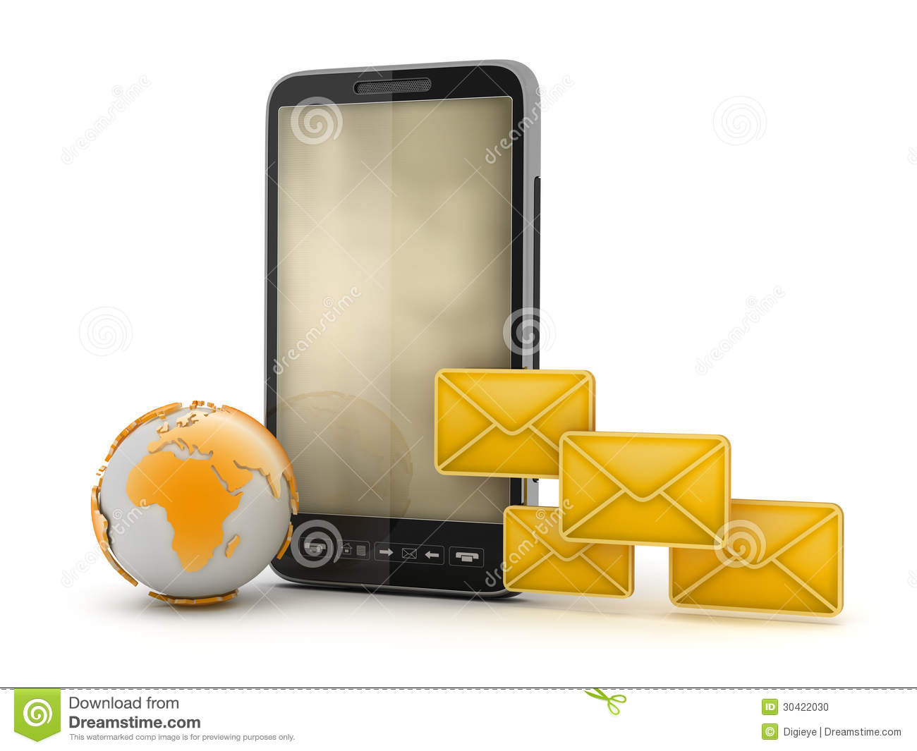 Mobile Technology: Short Message Service (SMS) Stock