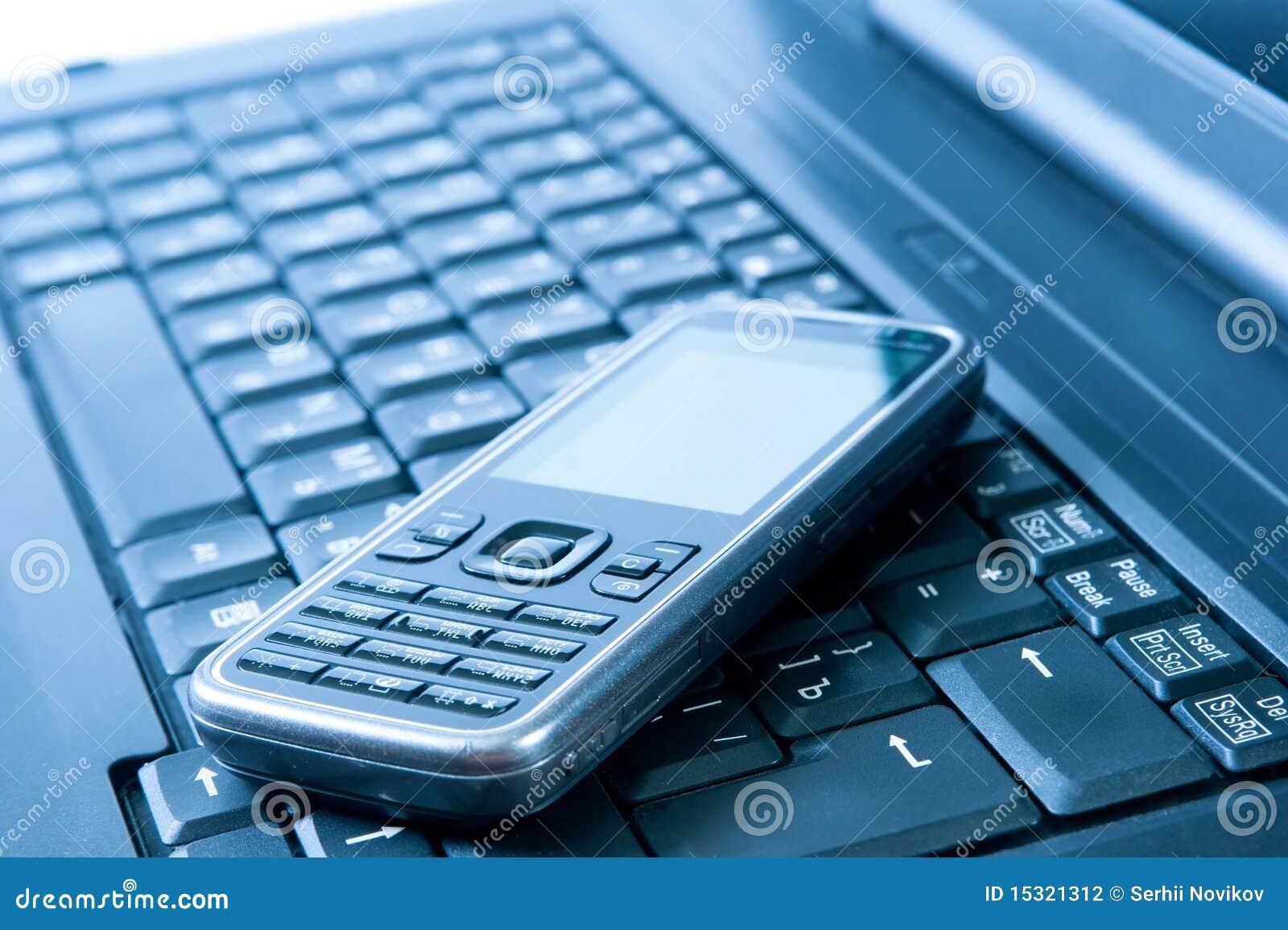 mobile telephone stock photography image 15321312. Black Bedroom Furniture Sets. Home Design Ideas